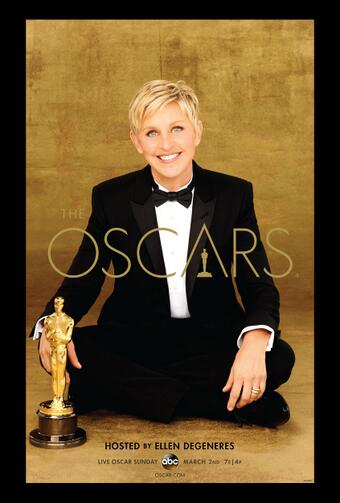 Original 86th annual Oscars poster from Wikipedia