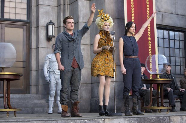 Still from the moving Hunger Games: Catching Fire