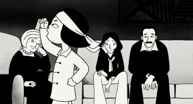 Still from the movie Persepolis