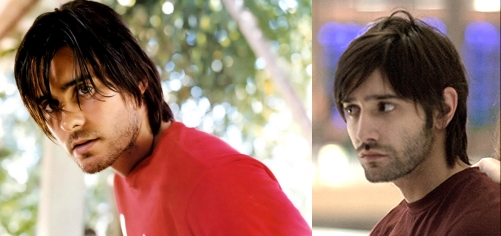 Left: Jared Leto. Right: Giorgos Kafetzopoulos.