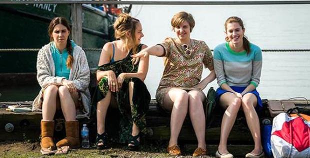 Still from Season 3 of Girls