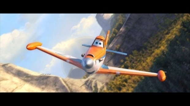 Still from the movie Planes: Fire & Rescue