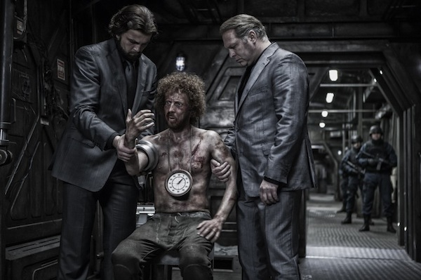 Still from the movie Snowpiercer