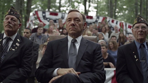 Still from the TV show House of Cards, Season 2