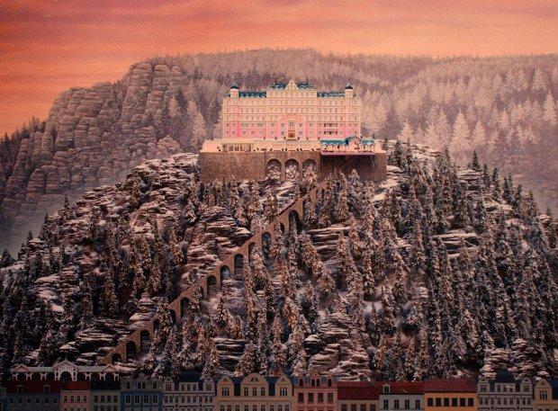 Still from the movie The Grand Budapest Hotel
