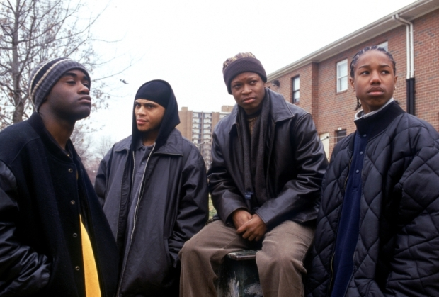 Still from the season 1 of the TV show The Wire