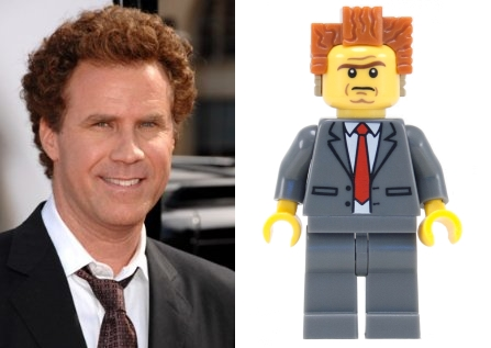 Will Ferrell as President Business