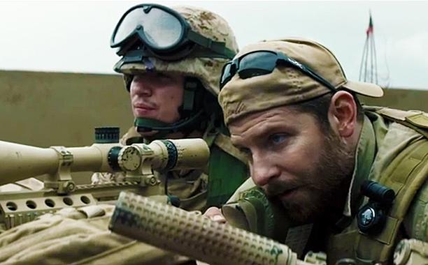 Still from the movie American Sniper