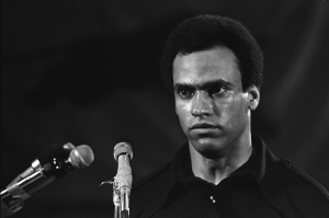 Still from the movie Black Panthers: Vanguard of the Revolution